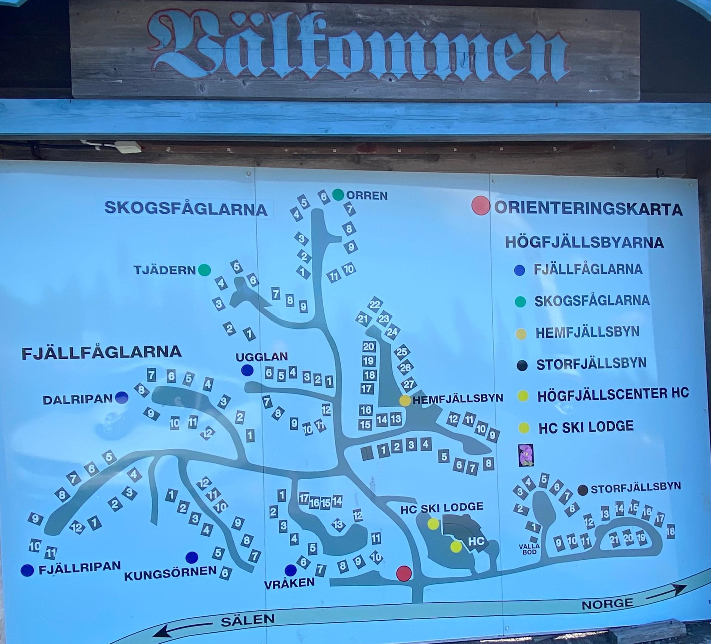Välkommen karta