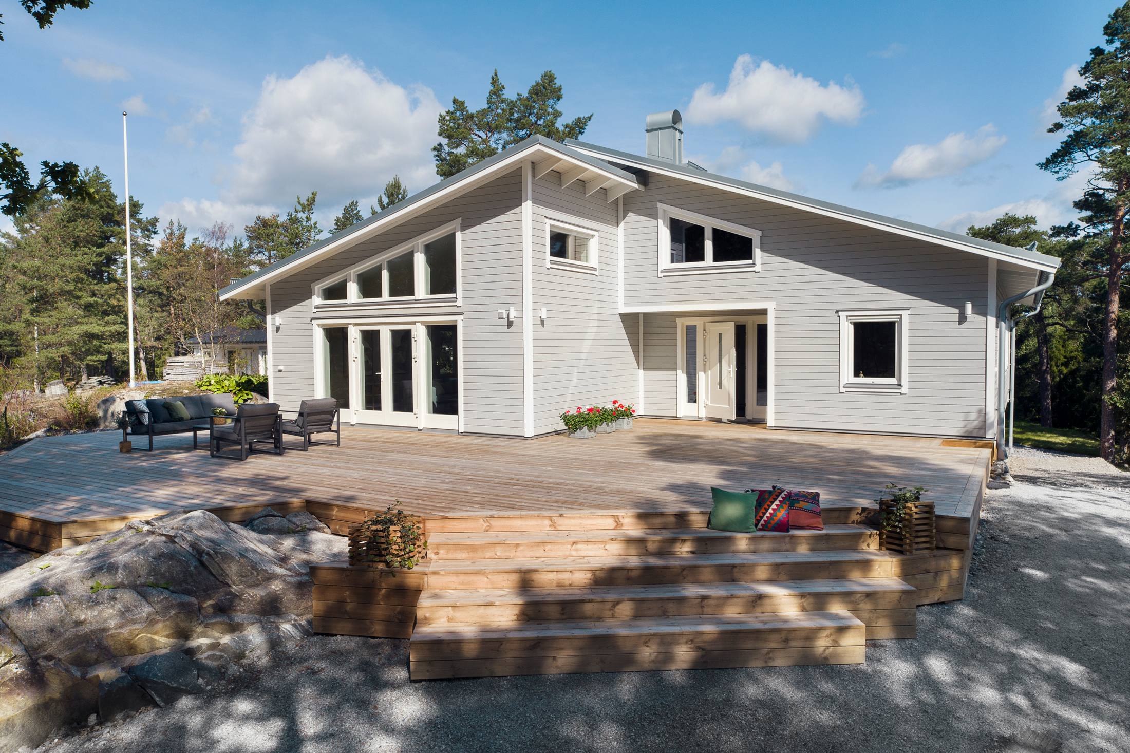 Helt nybyggd villa på Dundervägen 25