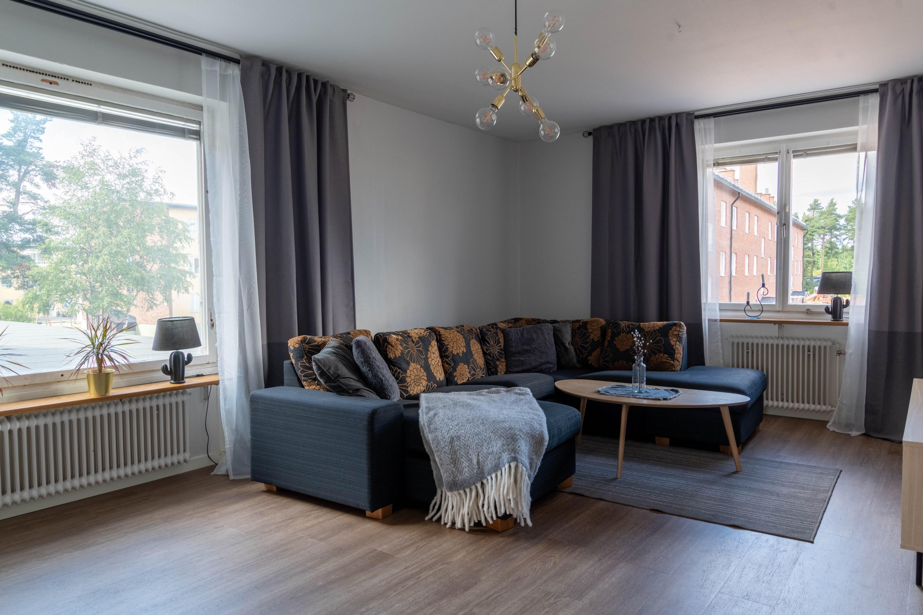 Ljus och fin lägenhet i Sveg